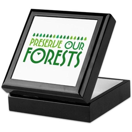Preserve Our Forests Keepsake Box