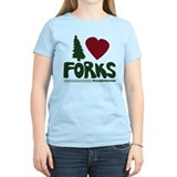 I Heart Forks, WA - Twilight T-Shirt