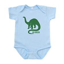 Go Green Dinosaur Onesie