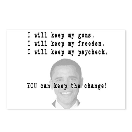 Keep the Change Postcards (Package of 8)