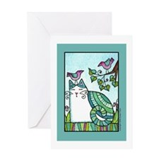 BIRD BRAIN No. 1... Blank Greeting Card