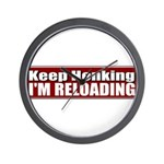 Keep Honking Wall Clock