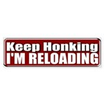 Keep Honking Bumper Sticker