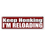 Keep Honking Bumper Sticker (50 pk)