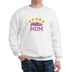 5-star Mom Sweatshirt