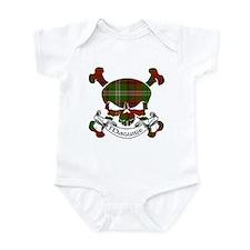 Maguire Tartan Skull Infant Bodysuit