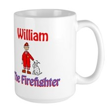 William - Firefighter Mug