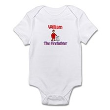 William - Firefighter Infant Bodysuit