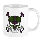 Malcolm Tartan Skull Small Mug