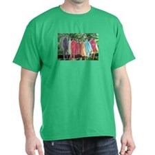 DYERS GARDEN OF COLOR  ADULT- Black T-Shirt