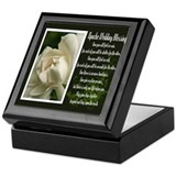 Traditional Apache Wedding Blessing Keepsake Box