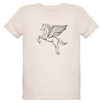 Chasing Pegasus Organic Kids T-Shirt