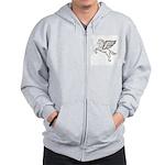 Chasing Pegasus Zip Hoodie
