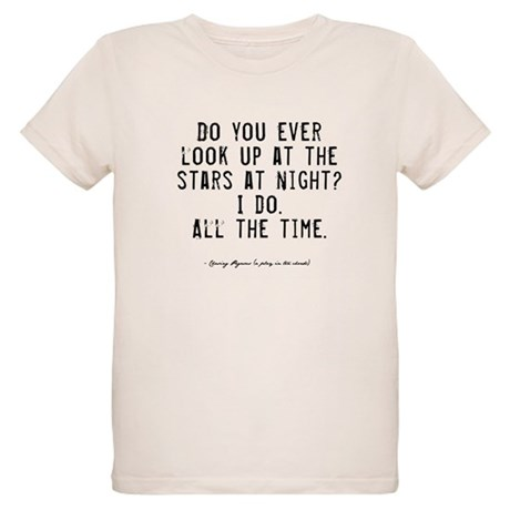 Stars Quote Organic Kids T-Shirt