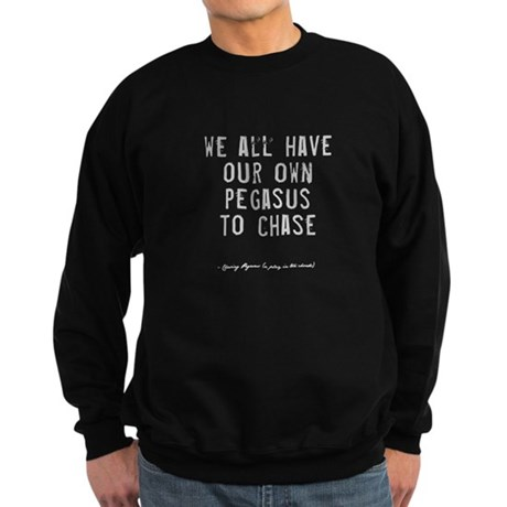 Pegasus Quote Sweatshirt (dark)