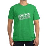 Not Crazy Just Rehearsing Men's Fitted T-Shirt (da