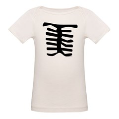 Skeleton Organic Baby T-Shirt