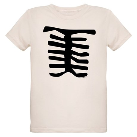 Skeleton Organic Kids T-Shirt
