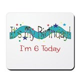 Sixth Birthday Mousepad