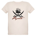 Elizabethan Pyrate Insignia Organic Kids T-Shirt