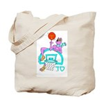 SABRA DOG(Basketball)Jewish Tote Bag