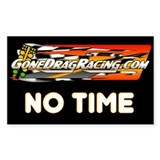 "No Time 3""x5"" Decal"