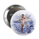 Snowflake Fairy Button