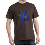 Colon Cancer Wife Dark T-Shirt