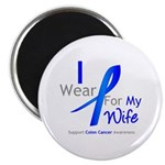 Colon Cancer Wife Magnet