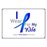 Colon Cancer Wife Banner
