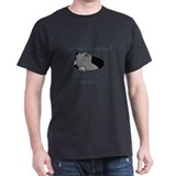 Mole Problems Black T-Shirt