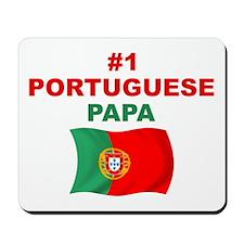 #1 Portuguese Papa Mousepad