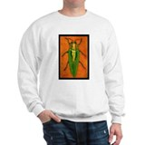 Irridescent Green Beetle Sweatshirt