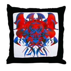 Viral Defender Throw Pillow