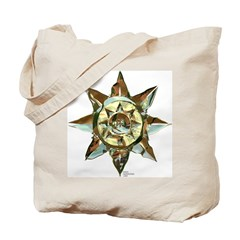 Brass Sun Tote Bag