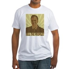 "The Max Keiser ""Tell the People"" T-shirt"