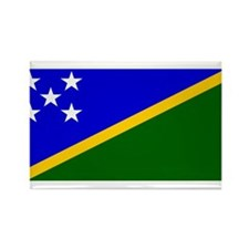 Solomon Islands Flag Rectangle Magnet