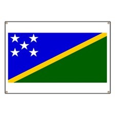 Solomon Islands Flag Banner