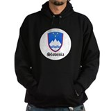 Slovene Coat of Arms Seal Hoodie