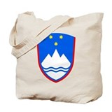 Slovenia Coat of Arms Tote Bag