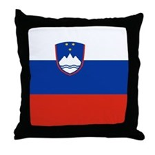 Slovene Throw Pillow