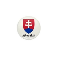 Slovak Coat of Arms Seal Mini Button (10 pack)