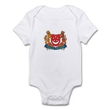 Singaporean Coat of Arms Seal Onesie
