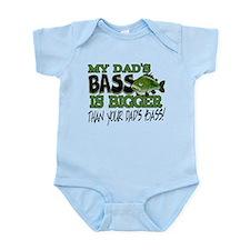 My Dad's Bass Infant Bodysuit