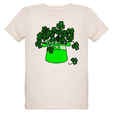 Leprechaun Hat Organic Kids T-Shirt