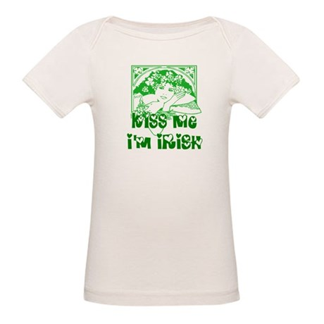 Kiss Me Irish Girl Organic Baby T-Shirt