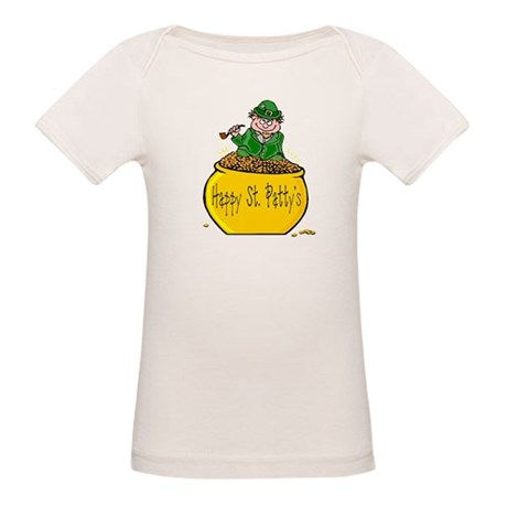 Pot of Gold Organic Baby T-Shirt