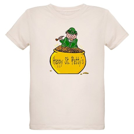 Pot of Gold Organic Kids T-Shirt