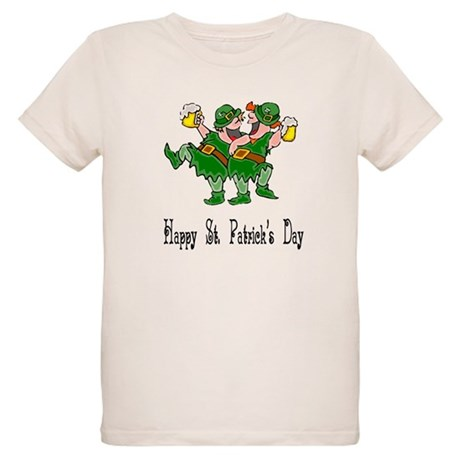 Leprechaun Dance Organic Kids T-Shirt