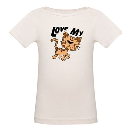 Love My Cat Organic Baby T-Shirt